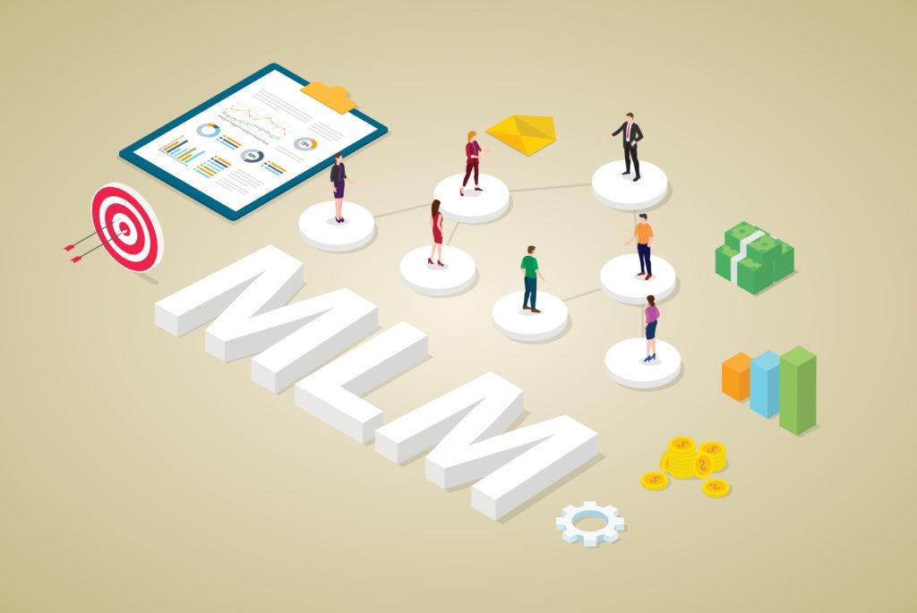concept du Multi-level marketing business